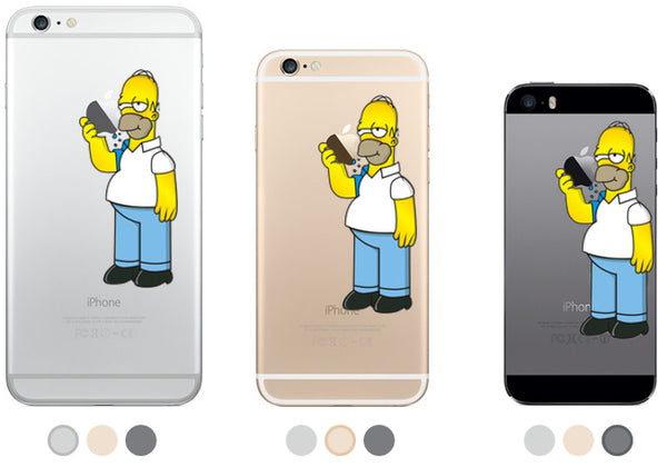 Homer iPhone Decal