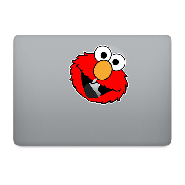 Sesame Street Elmo MacBook Decal V1