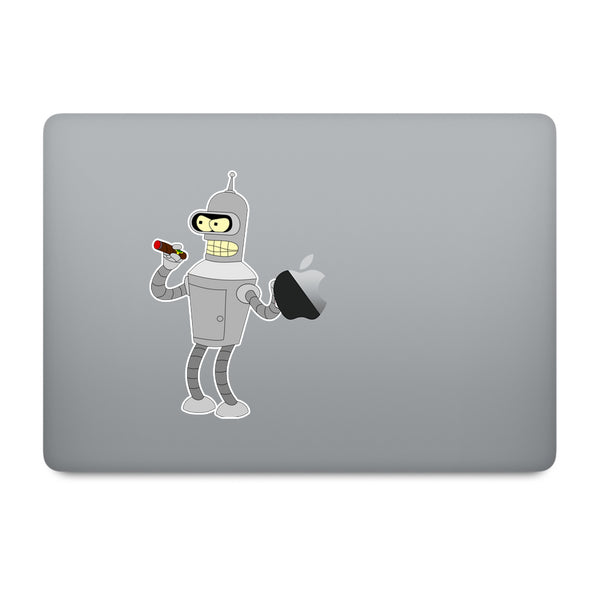 Futurama Bender MacBook Decal V1