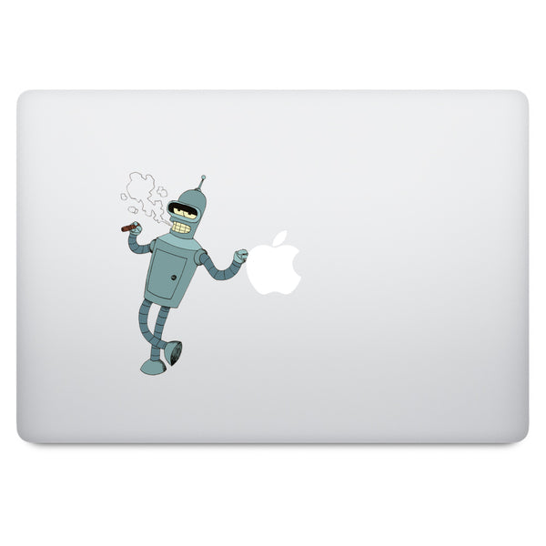Futurama Bender MacBook Decal V2