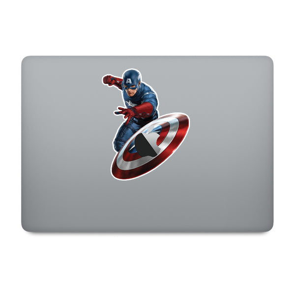 Captain America MacBook Decal V2