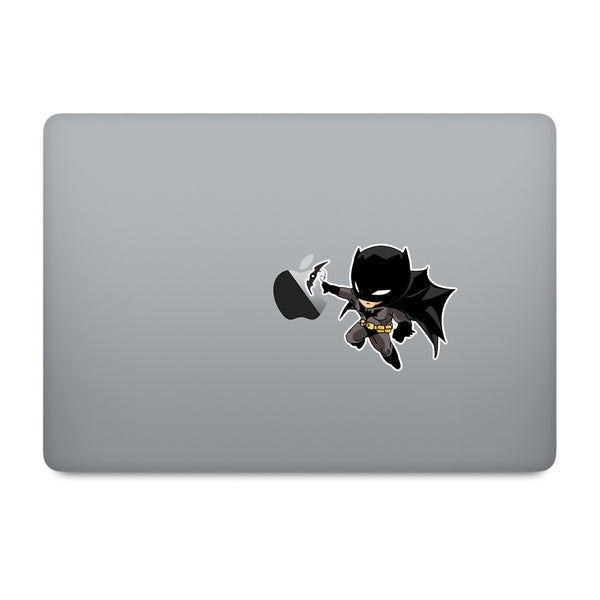 Cute Superheroes Batman MacBook Decal V2