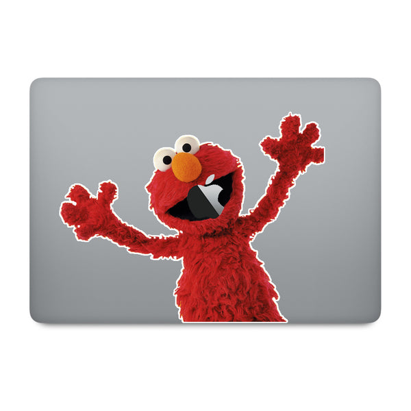 Sesame Street Elmo MacBook Decal V2