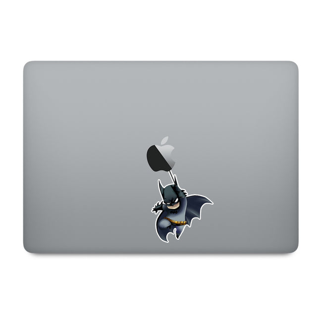 Cute Superheroes Batman MacBook Decal V3