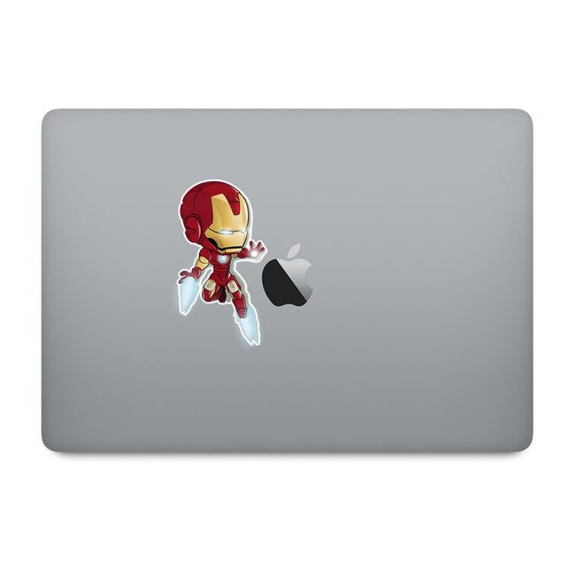 Cute Superheroes Ironman MacBook Decal
