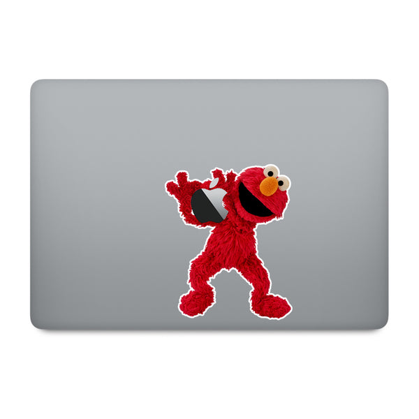 Sesame Street Elmo MacBook Decal V3