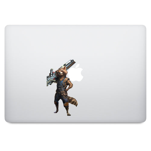 Guardian of the Galaxy Rocket Raccoon MacBook Decal