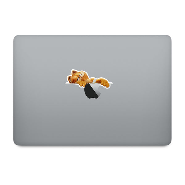 Garfield MacBook Decal V4