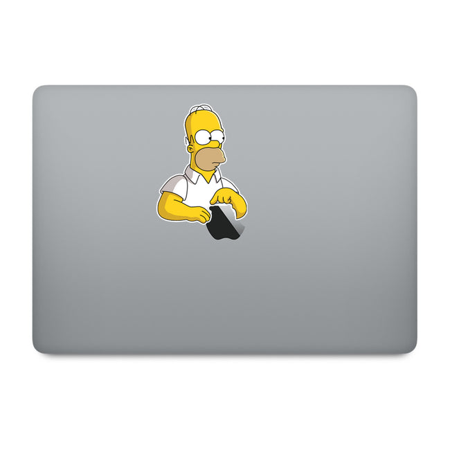 Simpson Homer MacBook Decal V5