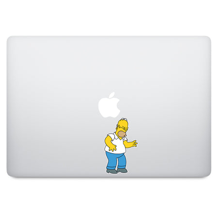 Simpson Homer MacBook Decal V3