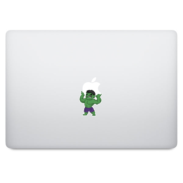 Cute Superheroes Hulk MacBook Decal