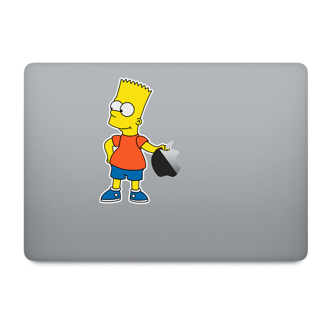 Simpson's Bart MacBook Decal V3
