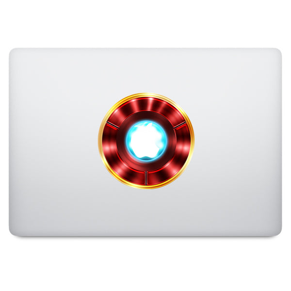 Ironman MacBook Decal V2