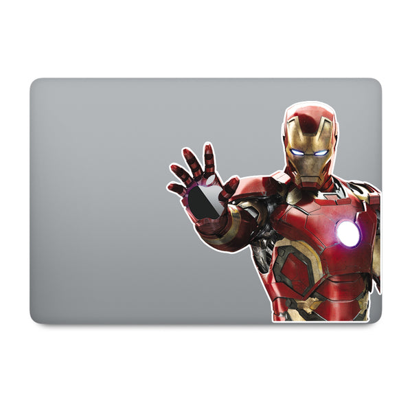 Ironman MacBook Decal V3