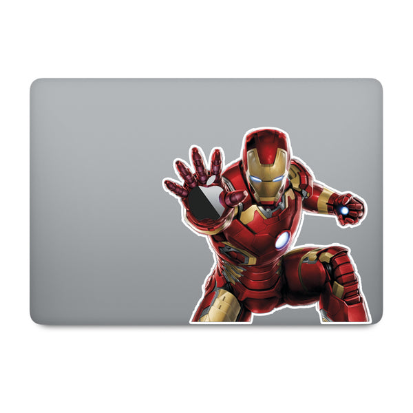 Ironman MacBook Decal V4