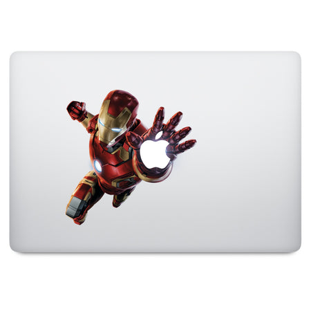 Superhero Ironman MacBook Decal