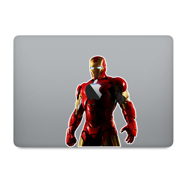Ironman MacBook Decal V6
