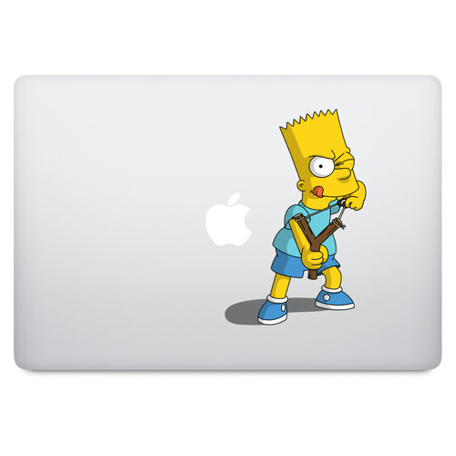 Simpson's Bart MacBook Decal V4