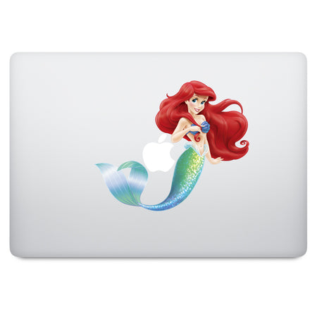 Snow White MacBook Decal V7