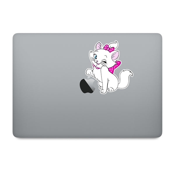 Marie Cat MacBook Decal V1
