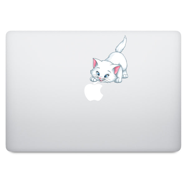 Marie Cat MacBook Decal V2