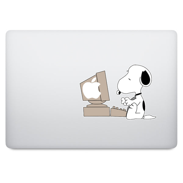 Snoopy MacBook Decal V2