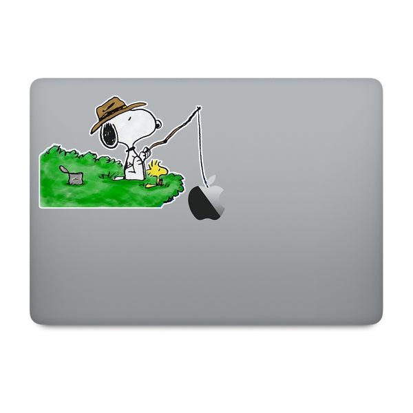 Snoopy MacBook Decal V3