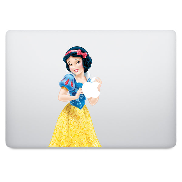 Snow White MacBook Decal V6
