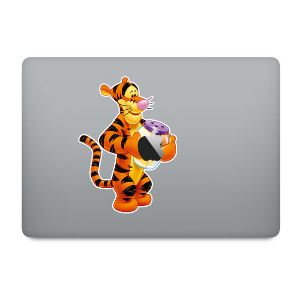 Winnie the Pooh Tigger MacBook Decal V3
