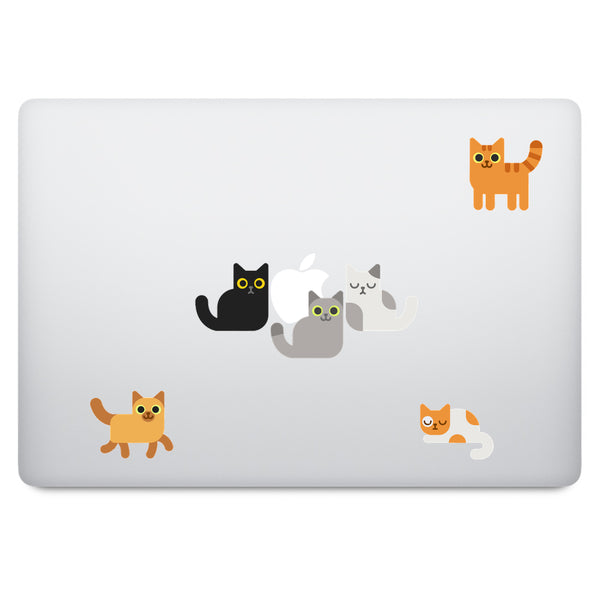 Cats MacBook Decal