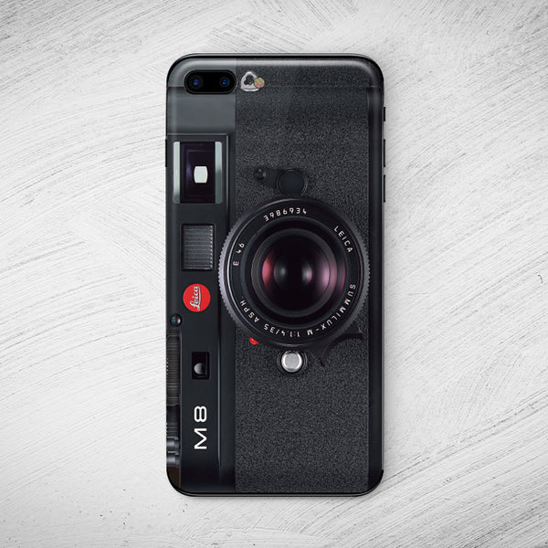 Leica M8 Camera Black iPhone Decal