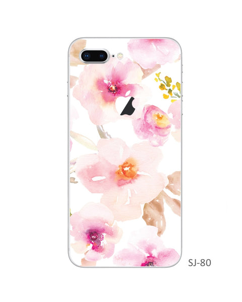 Trees and Flowers iPhone Decal