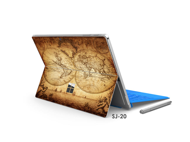 Map Surface Pro Decal