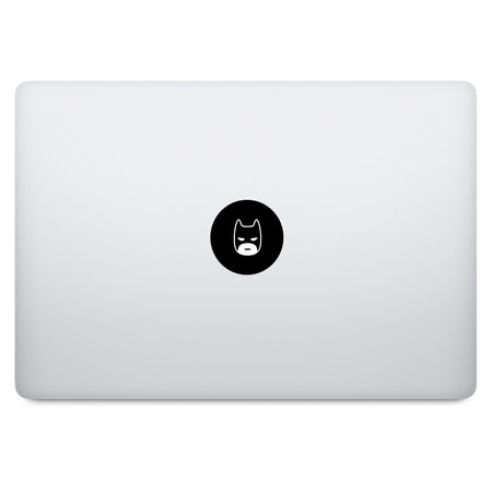 Cute Superheroes Captain America MacBook Decal