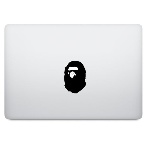 Bathing Ape MacBook Decal