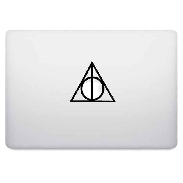 Harry Potter Deathly Hallows MacBook Palm Rest Decal