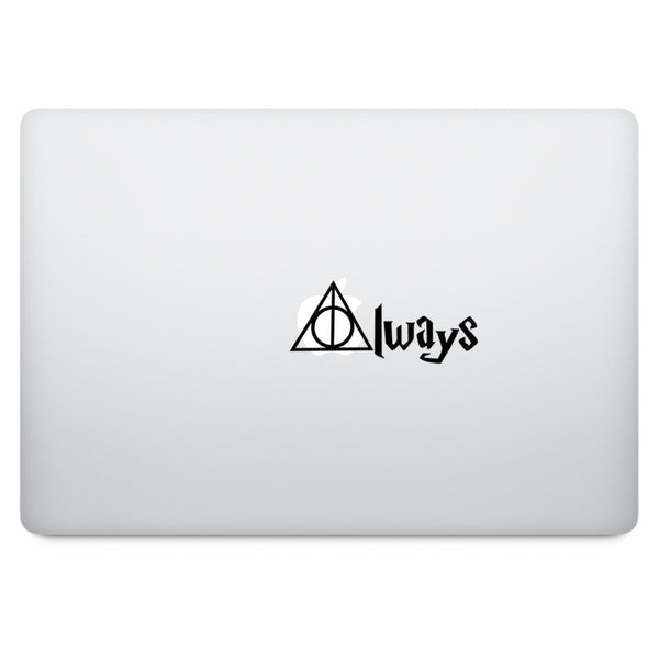 Harry Potter Always MacBook Palm Rest Decal