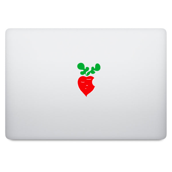 Red Carrot MacBook Decal