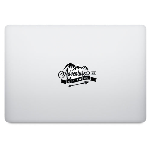 Adventure is Out There Quote MacBook Palm Rest Decal