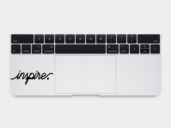 Inspire MacBook Palm Rest Decal