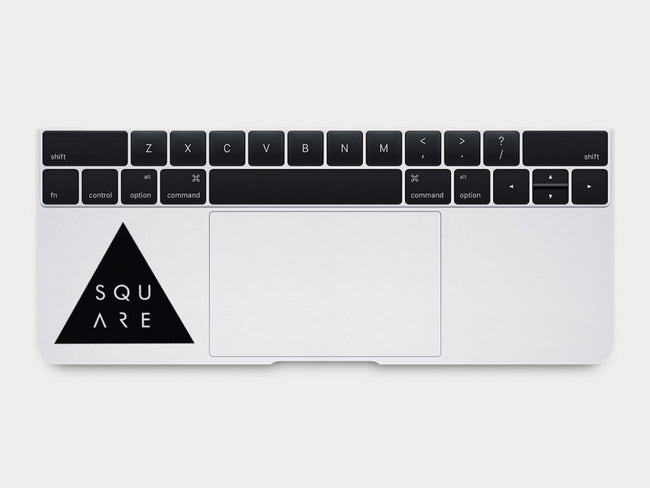 Square MacBook Palm Rest Decal
