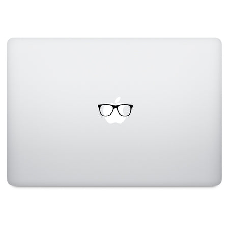 Red Apple Logo MacBook Decal