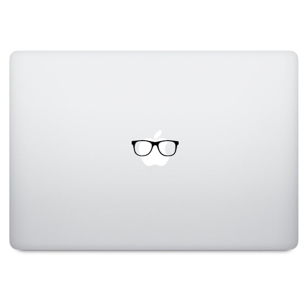 Glasses MacBook Decal