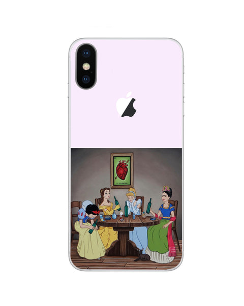 Modern World Disney Characters iPhone Decal