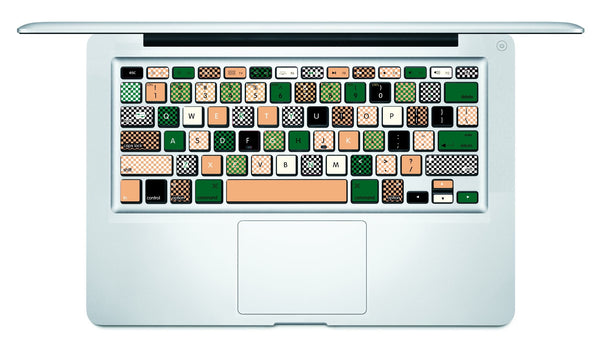 Camouflage MacBook Keyboard Decal