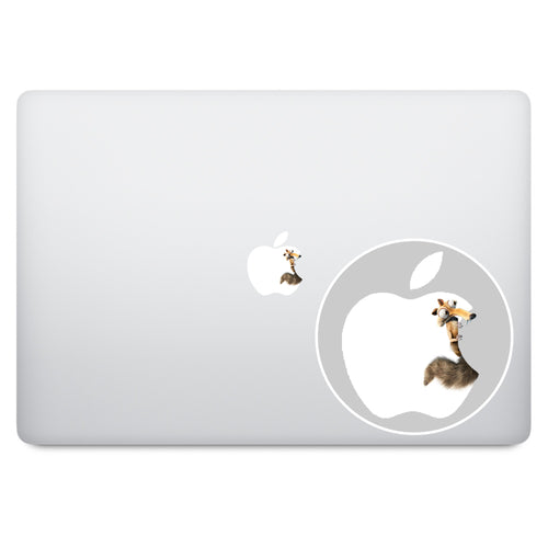 Ice Age Apple Logo MacBook Decal