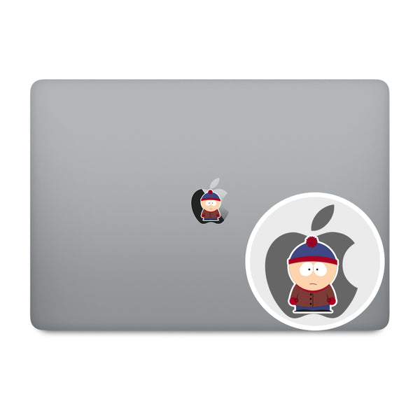 South Park Apple Logo MacBook Decal V1