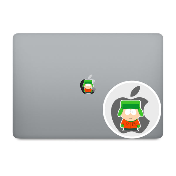 South Park Apple Logo MacBook Decal V2