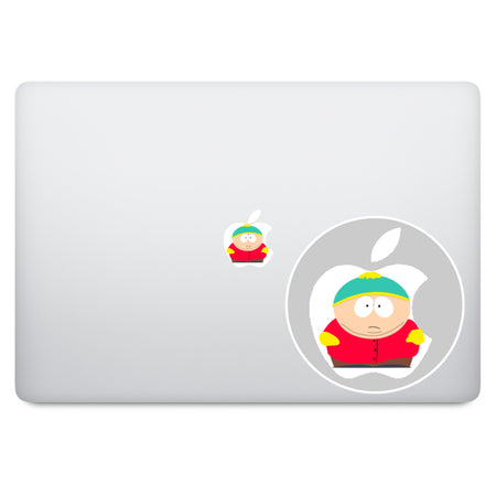 Betty Boop Apple Logo MacBook Decal
