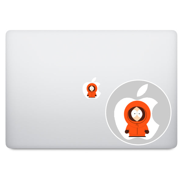 South Park Apple Logo MacBook Decal V4
